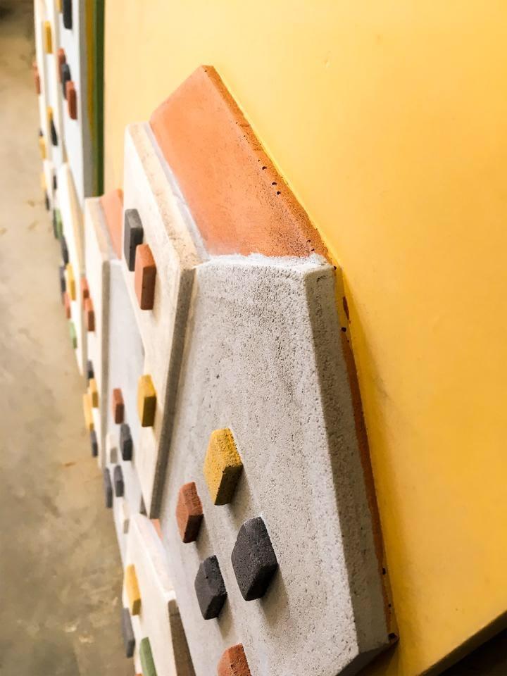 Beton-tableau-geel-detail