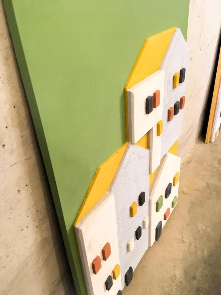 Beton-tableau-groen-zijkant